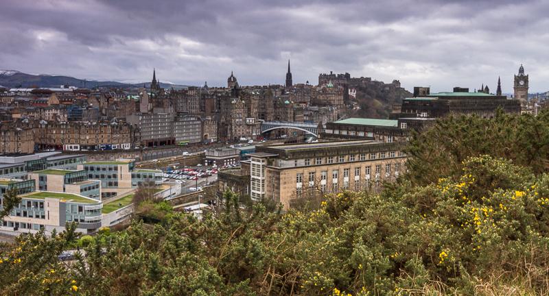 Edinburgh Ansicht von Calton Hill