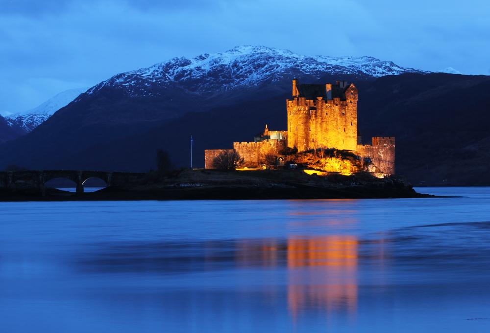 Eilean Donan Castle, das Highlander-Castle