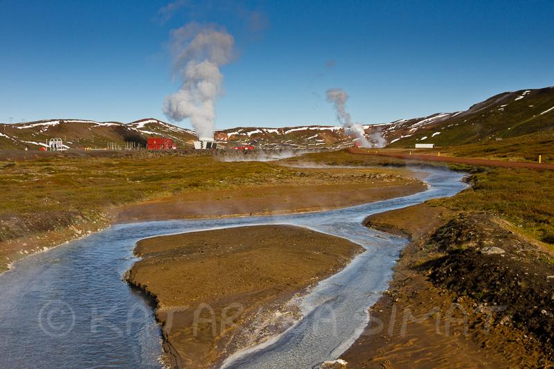 Geothermalkraftwerk in der Krafla