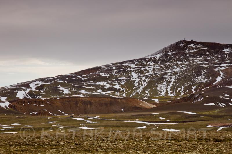 Viti-Krater von Leirhnjúkur gesehen